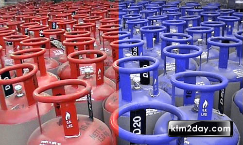 Colour-coded LPG cylinders launched