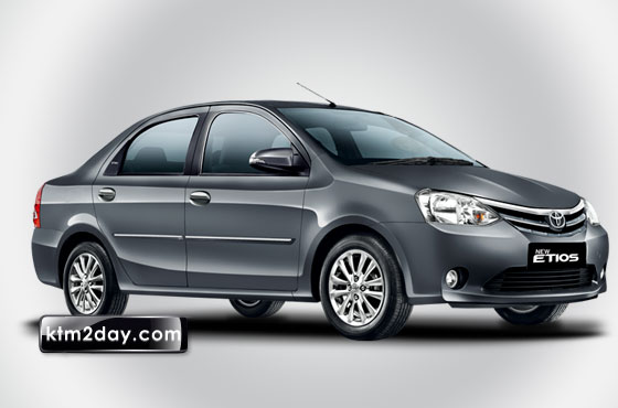 Toyota Etios launched in Nepal