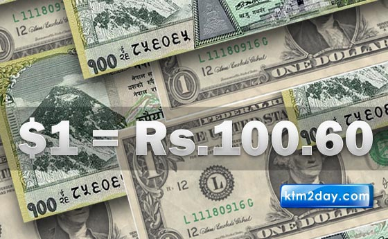 Rupee drops to historic 100.60 per US dollar
