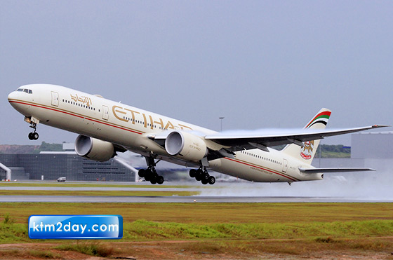 Etihad Airways doubles its flights to Kathmandu