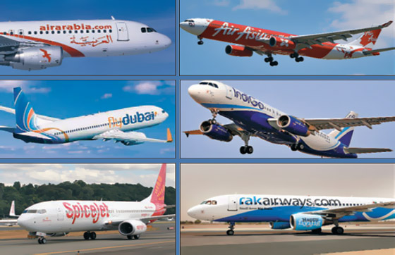 Low-cost airlines flying high with passenger movement