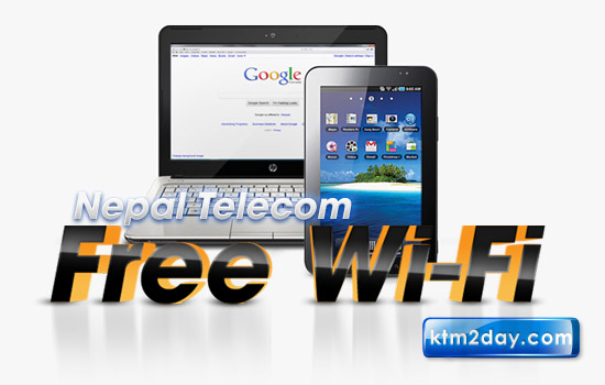 Nepal Telecom offers free Wi-Fi for a month