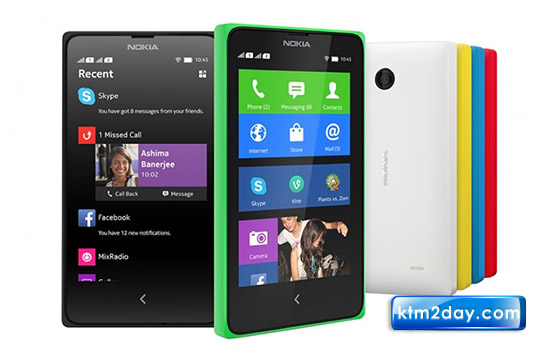 Nokia X android phone launched at MWC
