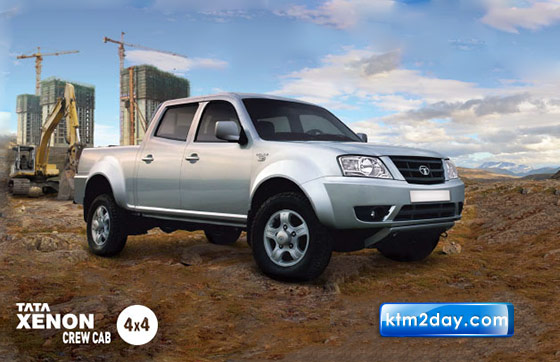 Tata launches Xenon CC 4x4 Pick-up