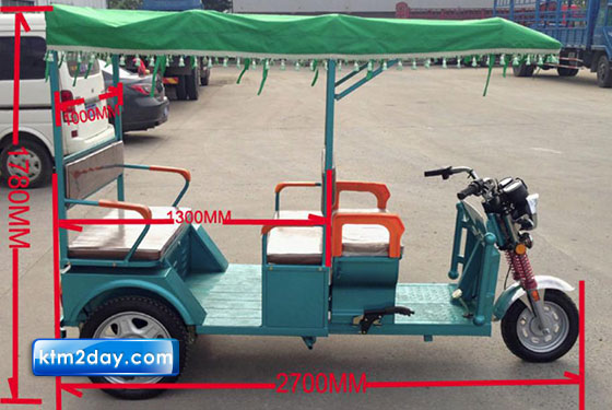 Government to allow electric rickshaws in urban centers
