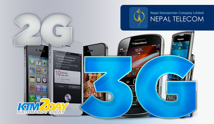 Nepal Telecom switches to 3G network
