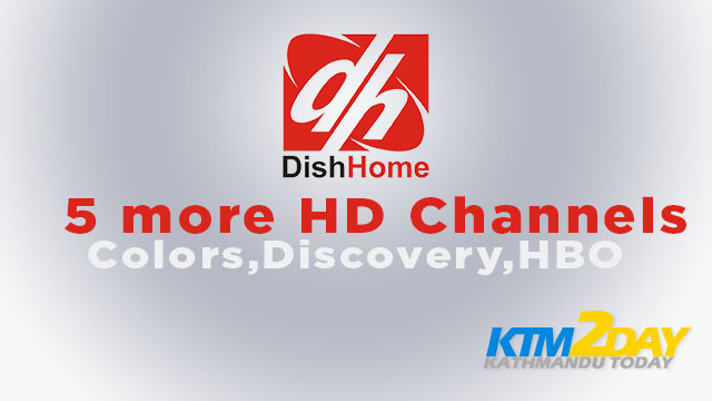 Dish Home adds 5 more HD channels