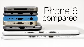 Leaked iPhone 6 (mockup) vs popular smartphones