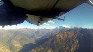 Flying from Lukla to KTM in 3 mins