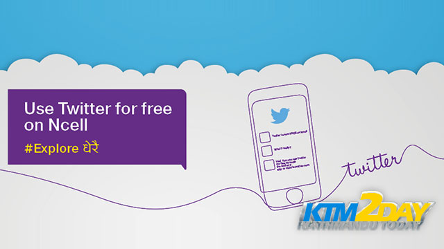 Ncell offers free Twitter service