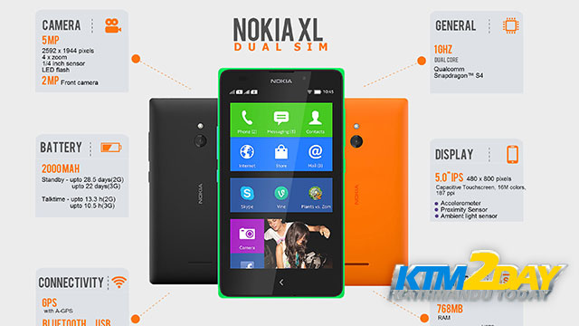 Nokia XL launched in Nepali market