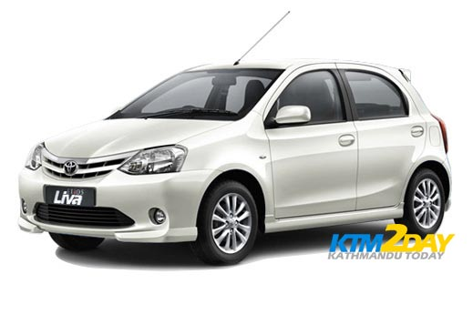Toyota Etios Liva launched in Nepali market