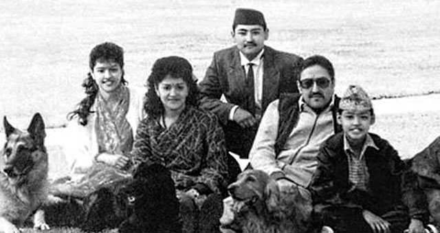 king_birendra_family