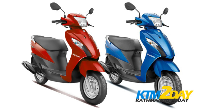 Suzuki launches Let's scooter in Nepal