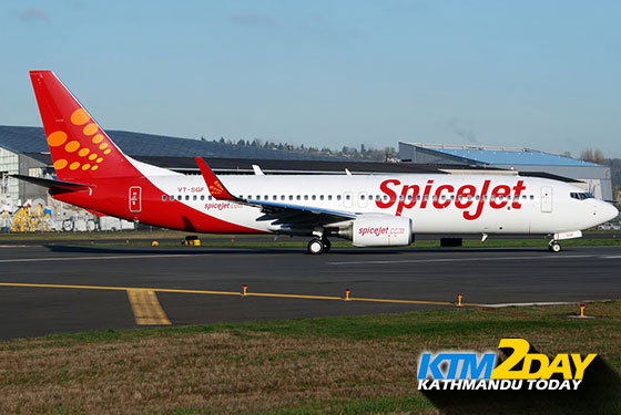 SpiceJet adds new route connecting KTM to Kolkata