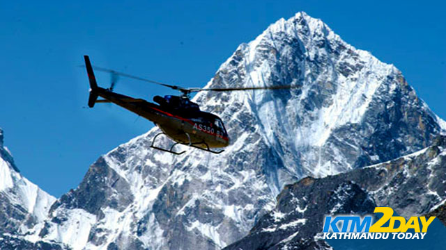 Nepal warns against use of choppers in mountains