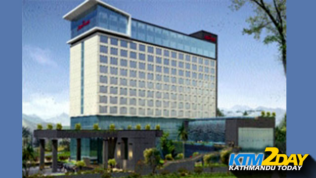Another flagship of Marriott site in Kathmandu
