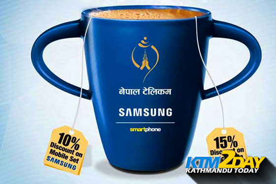 Nepal Telecom and Samsung jointly bring discount offers