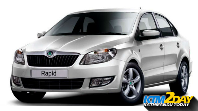 Skoda Rapid's Limited Edition Launched in Nepal