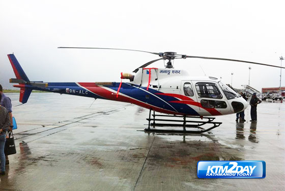 Manang Air adds the AS350B3e to its fleet