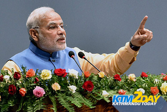 Indian PM NARENDRA MODI ADDRESSES NEPAL CONSTITUENT ASSEMBLY