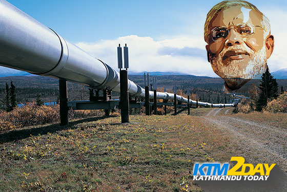 Modi pledges to develop India-Nepal cross-border petroleum pipeline