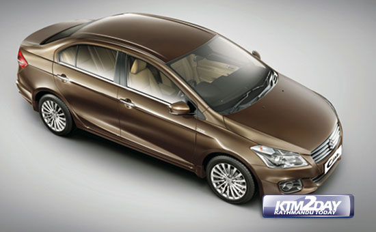 Maruti Suzuki launches Ciaz in Nepal
