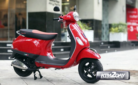 Vespa LT 3V launched in Nepal