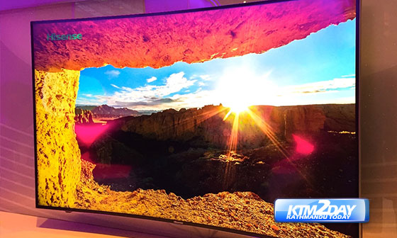 Hisense Curved UHD TV launched in Nepal