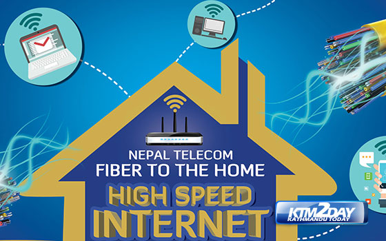 Nepal Telecom launches Fibre To The Home service