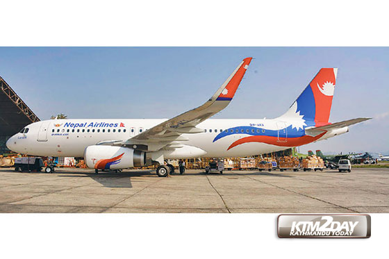Nepal Airlines all set to restart flights to China, UAE