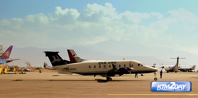 Domestic Airlines in Nepal reduce flights by 50%