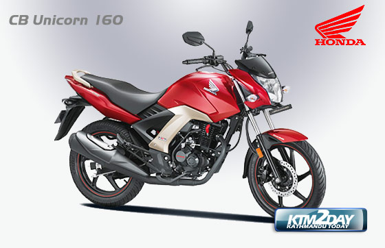 Honda CB Unicorn 160 launched in Nepal