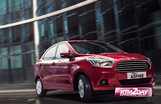 Ford Figo Aspire Available In Nepal