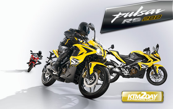 Bajaj Pulsar RS 200 launched in Nepal