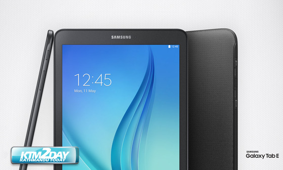 Samsung Galaxy Tab E Price In Nepal