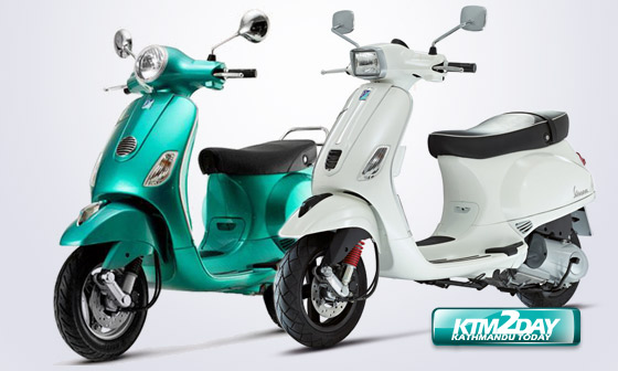 Vespa scooters launched in Nepali market