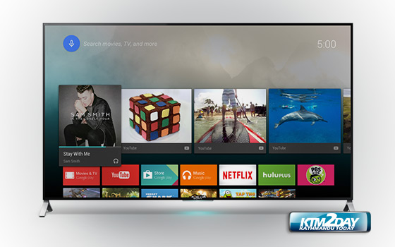 Android based HDTV launched in Nepali market