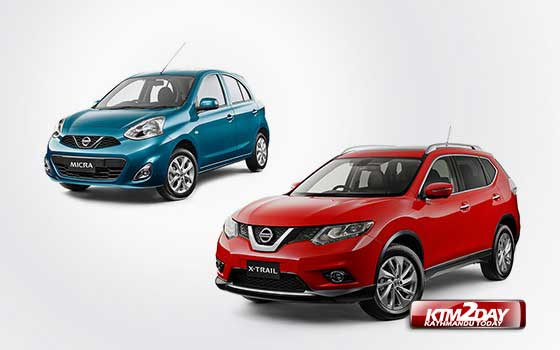 Nissan X-Trail and Micra launched in Nepal