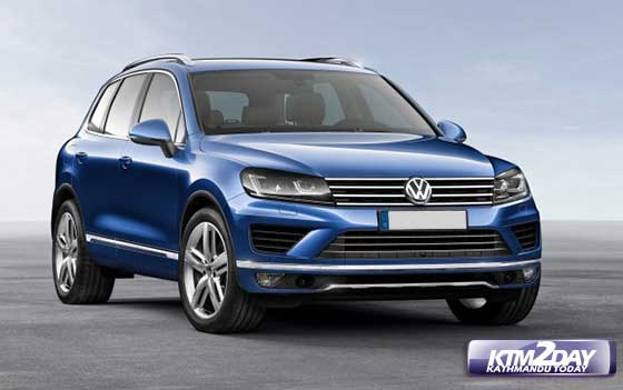 VolksWagen launches new models of Touareg,Scirocco and Beetle in Nepal