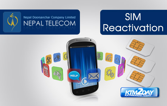 Nepal Telecom revises charges for activating expired SIM cards