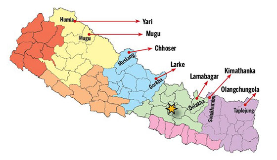 Nepal opens 7 new border trade points with China
