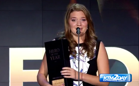 Maggie Doyne named the 2015 CNN Hero of the Year