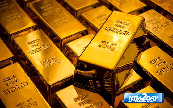 Gold slumps to three-month low