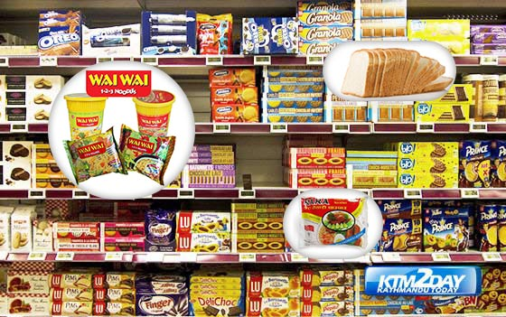 Market sees shortage of packaged food products