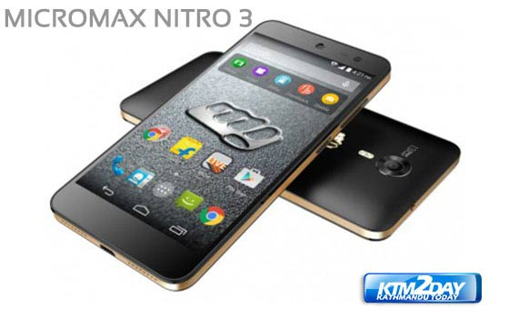Micromax Canvas Nitro 3 launched in Nepal