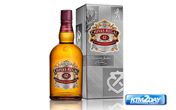 Chivas Regal unveils new design for its '12 Year Old' bottle