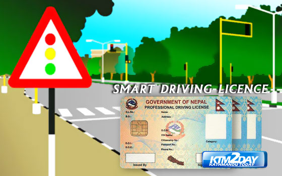 Digitised driving licence introduced in Nepal