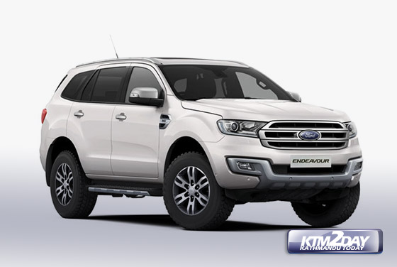 GO Ford The Authorized Distributor Of Vehicles For Nepal Has Launched All New Endeavour In Domestic Market Under Its SUV Segment