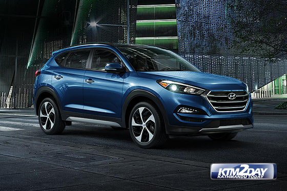 Hyundai  launches the all-new Tucson in Nepal